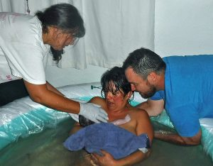 Santa Fe Midwifery Services Waterbirth